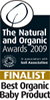 finalist organic baby product